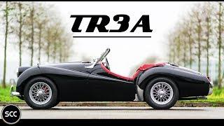 TRIUMPH TR3 A 1960 - Full test drive in top gear - Engine sound | SCC TV