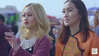 Beautiful girls at Fresno Hmong Cultural New Year Celebration 2017-18