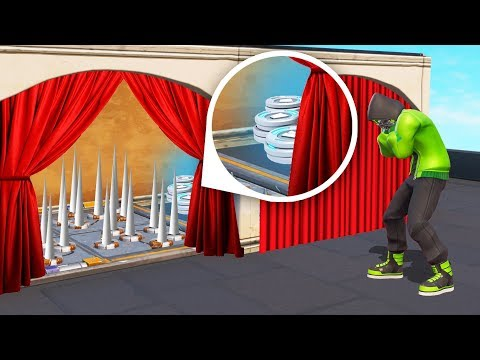 OPEN The CORRECT CURTAIN Or DIE! (Fortnite *MINIGAME*)