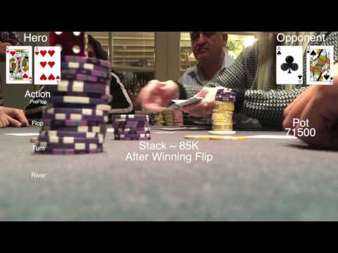 "Live Tournament Poker Vlog ""Will The Downswing End?"" - Ep. 1"