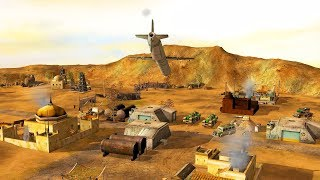 TOMAHAWK MISSILE STRIKES ON FINAL ENEMY HQ | Command & Conquer Generals Zero Hour Gameplay