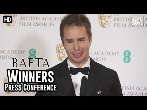 Sam Rockwell - Best Supporting Actor Press Conference - BAFTA Film Awards 2018
