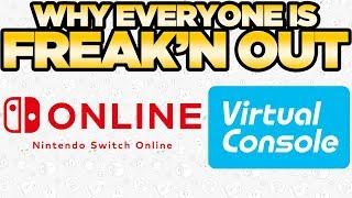 Why Everyone is FREAKIN OUT About Switch's Online Service & Virtual Console | Austin John Plays