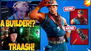 Streamers React To New Cole Skin - Rockbreaker Pickaxe! Fortnite Duo World Cup TFUE - NINJA WINS!