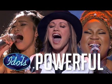 AMAZING WOMEN! Most Powerful Female Singer Performances On A
