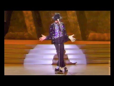 Billie Jean 720p60 1st Moonwalk LIVE Performance at Motown 25 Michael Jackson