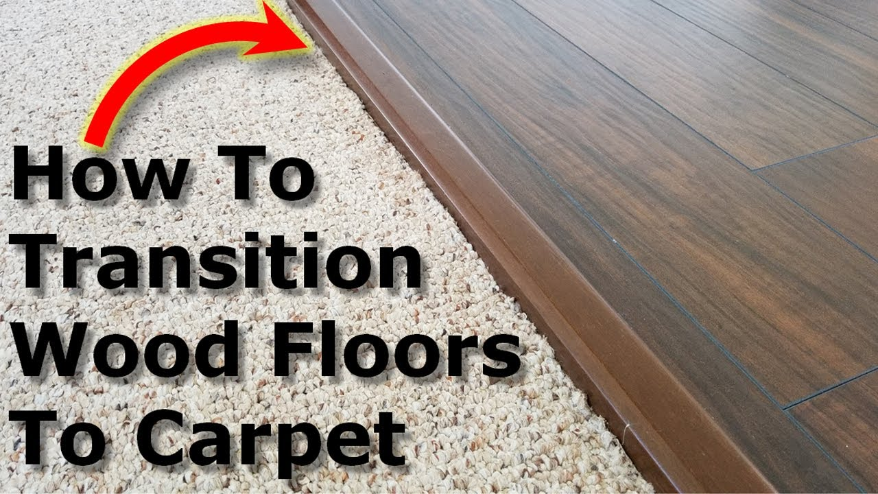 carpet to wood floor transition laminate floors