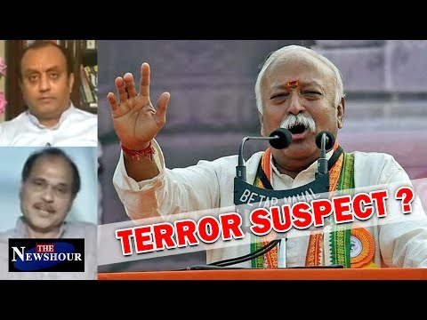 Is RSS Chief, Mohan Bhagwat A 'Terror Suspect' For UPA? The Newshour Debate (14th July)