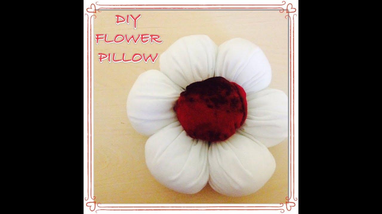DIY Flower Pillow - YouTube