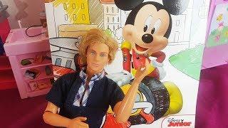 Barbie Po Polsku - Myszka Miki weszła do domu! - zabawki bajki dla dzieci