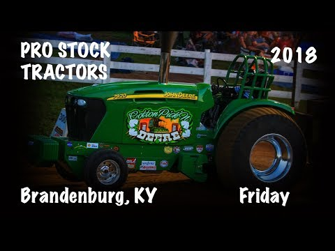 Pro Stock Tractors at Brandenburg, KY (7/27/18)