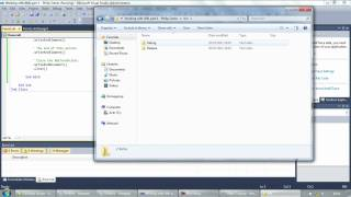 Working with XML files part 1 - Writing to XML (Visual Basic)