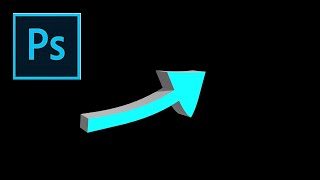 How to Create a 3D Arrow in Photoshop in 3-Minutes