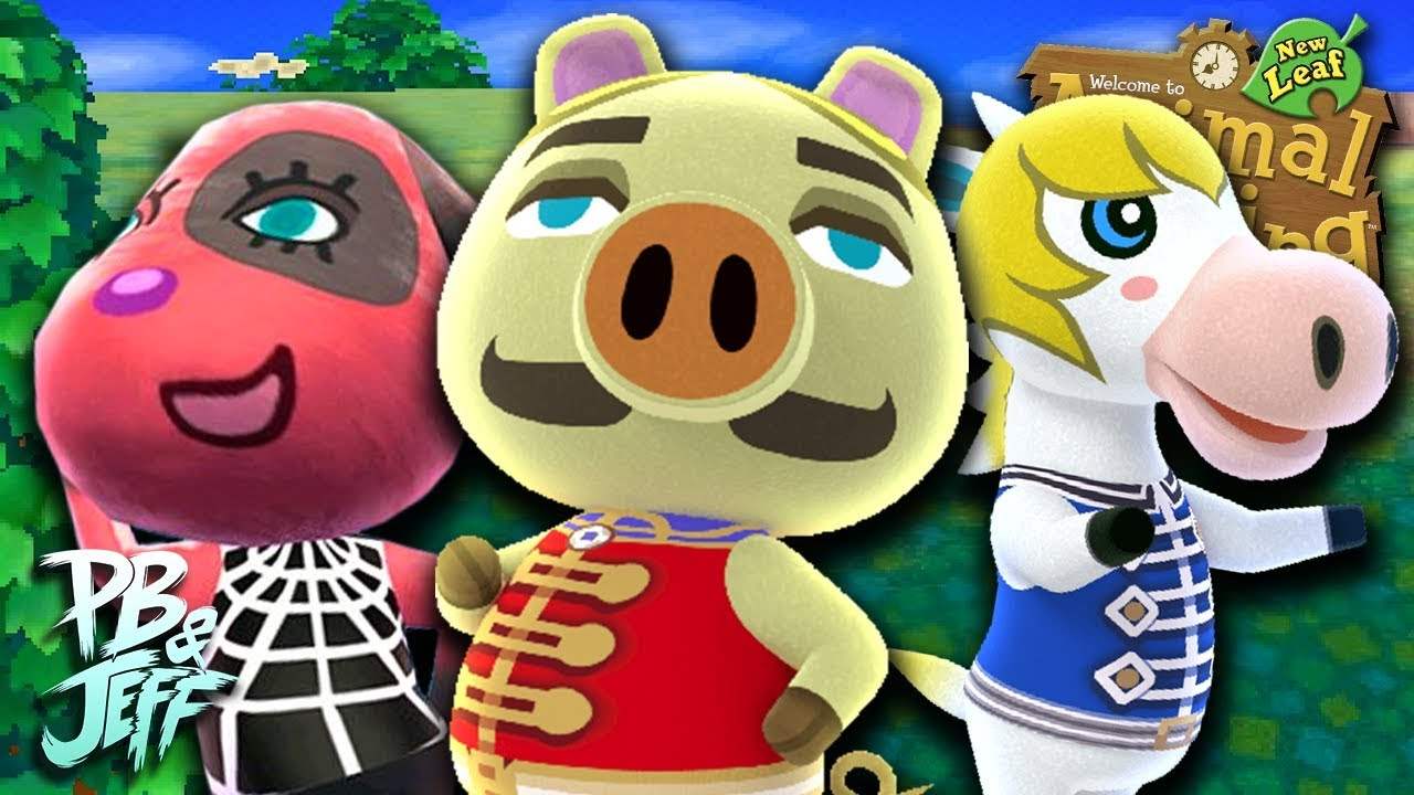 Animal Crossing: New Leaf | Eccentric Villagers (Part 7 ...