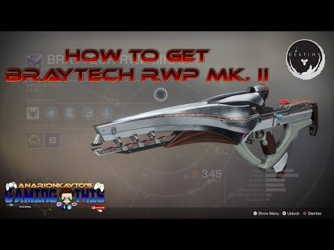 Nascent Dawn 2/5 Quest Guide: Braytech RWP MK. II Energy Scout Rifle