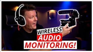 Wireless Audio Monitoring For Filmmakers!