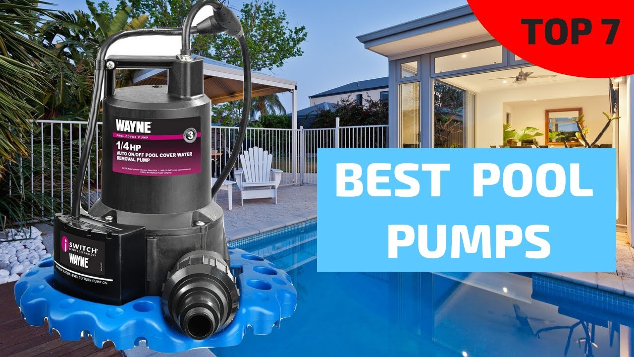 Top 7 Best Pool Pumps 2019   Ranking & Review of Swimming ...