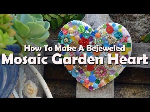 Mosaic Tutorials How To Make Mosaic Garden Heart