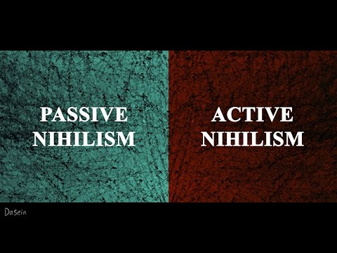 a discussion of two kinds of nihilism according to nietzsche