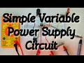 How to Build A Variable Regulated Power Supply(RPS) | How to build a Lab Bench Power Supply |
