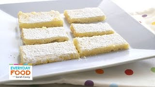 Refreshingly Tangy Lemon Square Recipe - Everyday Food With Sarah Carey