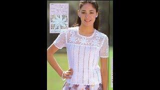 Ажурное Вязание Крючком Женских Кофточек - модели 2019 / Knitting by Crochet of Women's Sweatshirts
