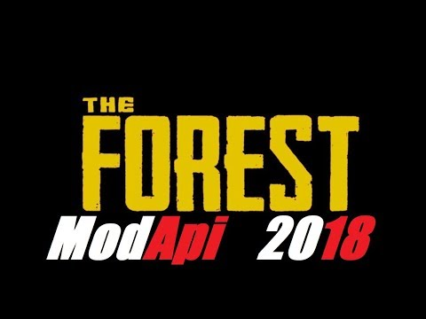 TUTORIAL #1  -The Forest : Cheat Menu v73b (MODAPI) 2018