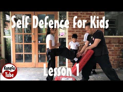 Self Defence for kids 1/8 Wing Chun Kung Fu
