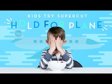 Kids Try Hold for Plane Supercut   Kids Try   HiHo Kids