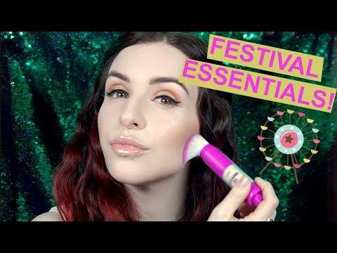 festival fannypack essentials   tarte talk