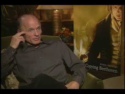 ED HARRIS CHANNELS BEETHOVEN