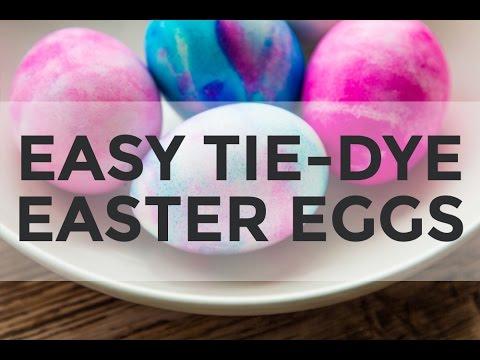 TieDye Easter Eggs with Shaving Cream  YouTube