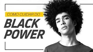 ✂ Black Power | Corte de Cabelo Masculino ✂