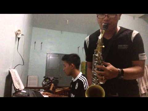 Kiss the Rain - cover Saxophone & Piano ( Alexis & Kristian )