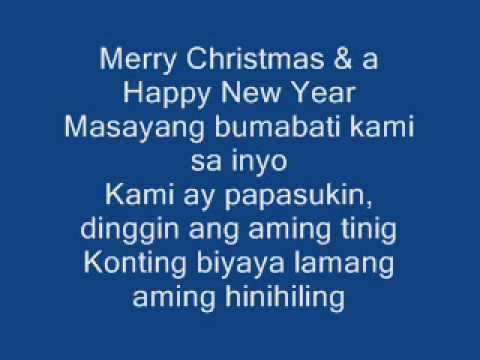 Merry Christmas And A Happy New Year / Original song - YouTube