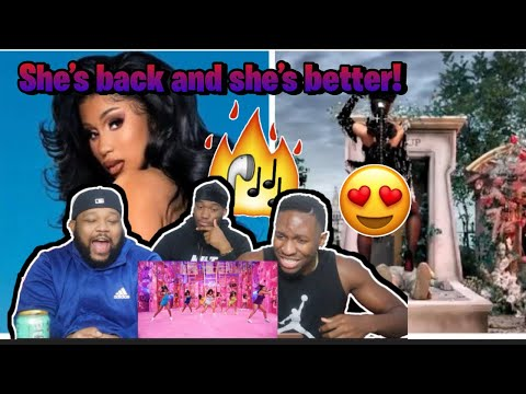 Cardi B – Up [Official Music Video] REACTION!!