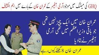 Imran Khan GHQ Visit important secrets revealed Imran Khan Meeting in GHQ