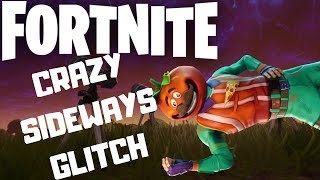 CRAZY FORTNITE GLITCH - The Sideways Game