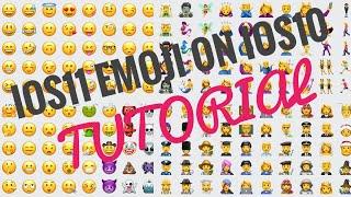 Cara Menginstall iOS11 Emoji di iOS10