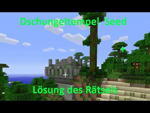 Dschungeltempel Seed Minecraft Ps Edition YouTube - Minecraft spielerkopfe erstellen