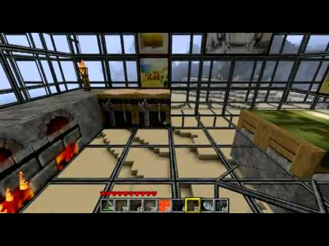 The Nation Minecraft - Judge_David's buildings and houses Episode 1