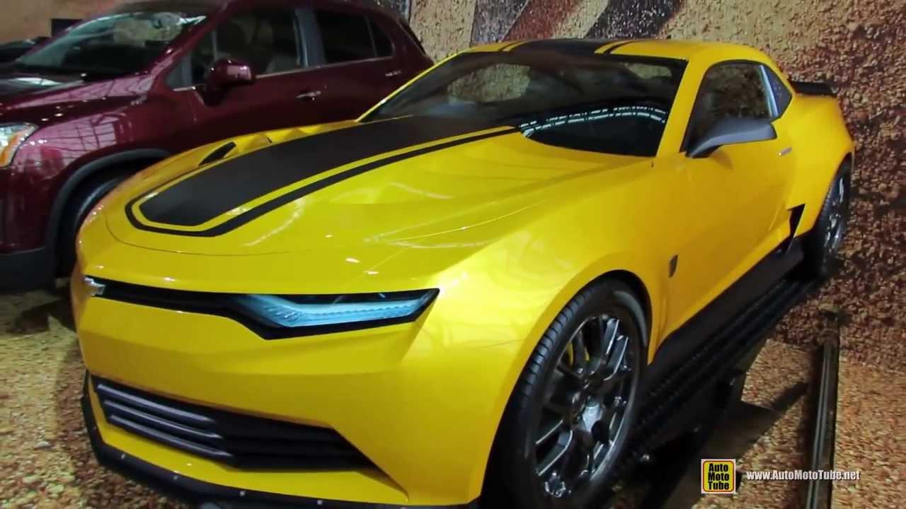 Transformers 4 chevrolet camaro prototype!