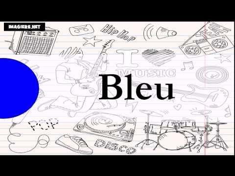 Lär dig franska # färgerna