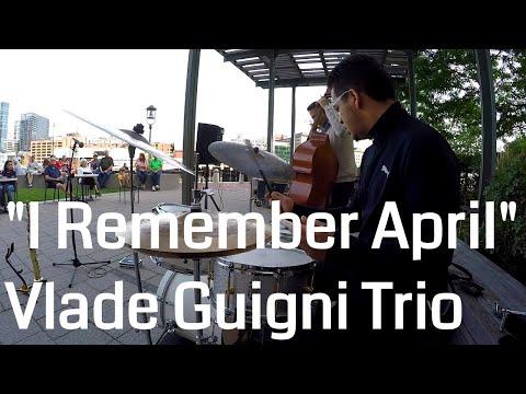 "JAZZ DRUMS!!! ""I Remember April"" Vlade Guigni Sax Trio"