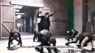 [Sub español] B.A.P - One Shot MV (Making Film Dance version)