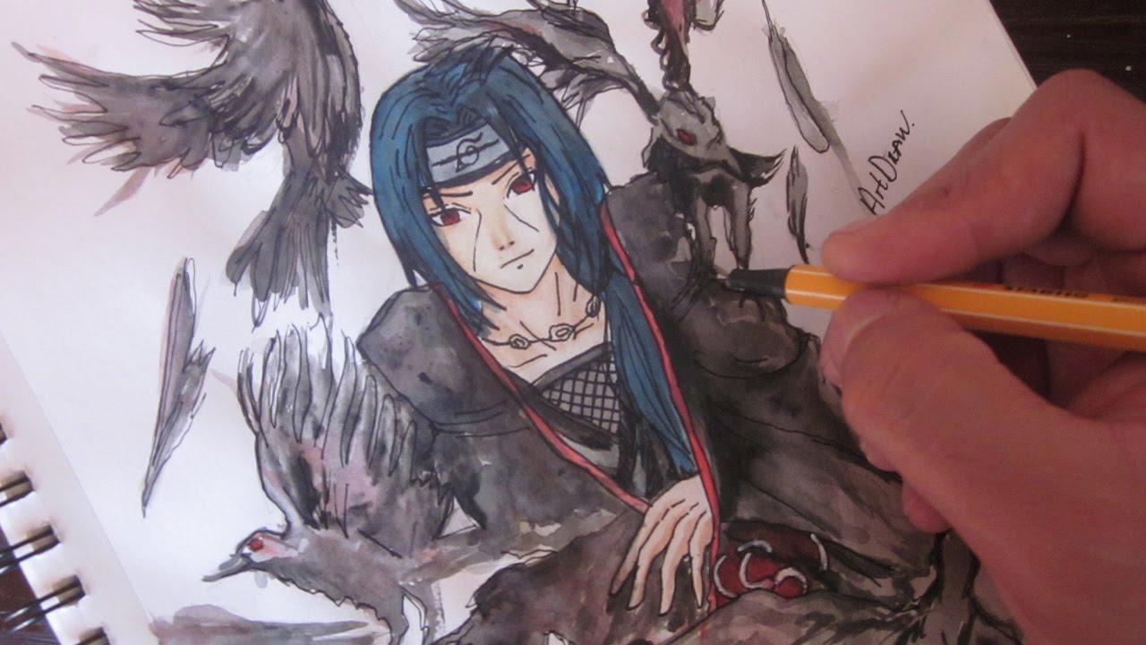 Dibujo De Sasuke Uchiha De Naruto Para Colorear Dibujos Para
