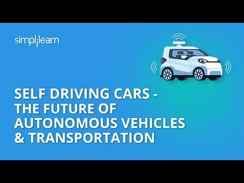 Self Driving Cars - The Future Of Autonomous Vehicles & Transportation   Google Waymo   Simplilearn