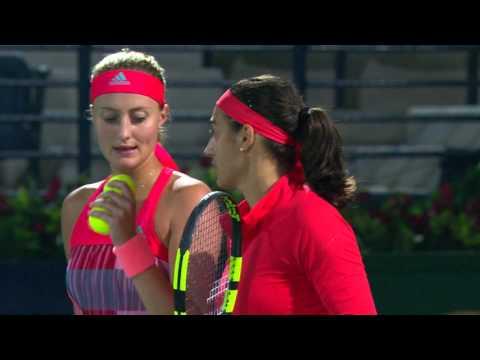 Highlights: Mladenovic/Garcia vs. Babos/Goerges, SF, 2016 DDFTC