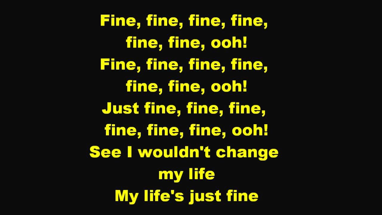 No more song lyrics