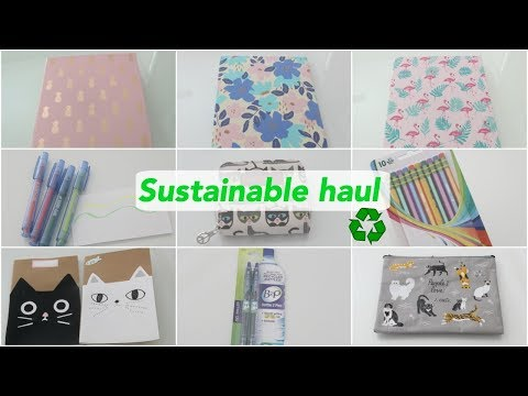 Sustainable School Supplies Haul | Eco Friendly